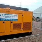 Gerador diesel de emergência