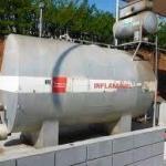 Locação de tanque de combustível